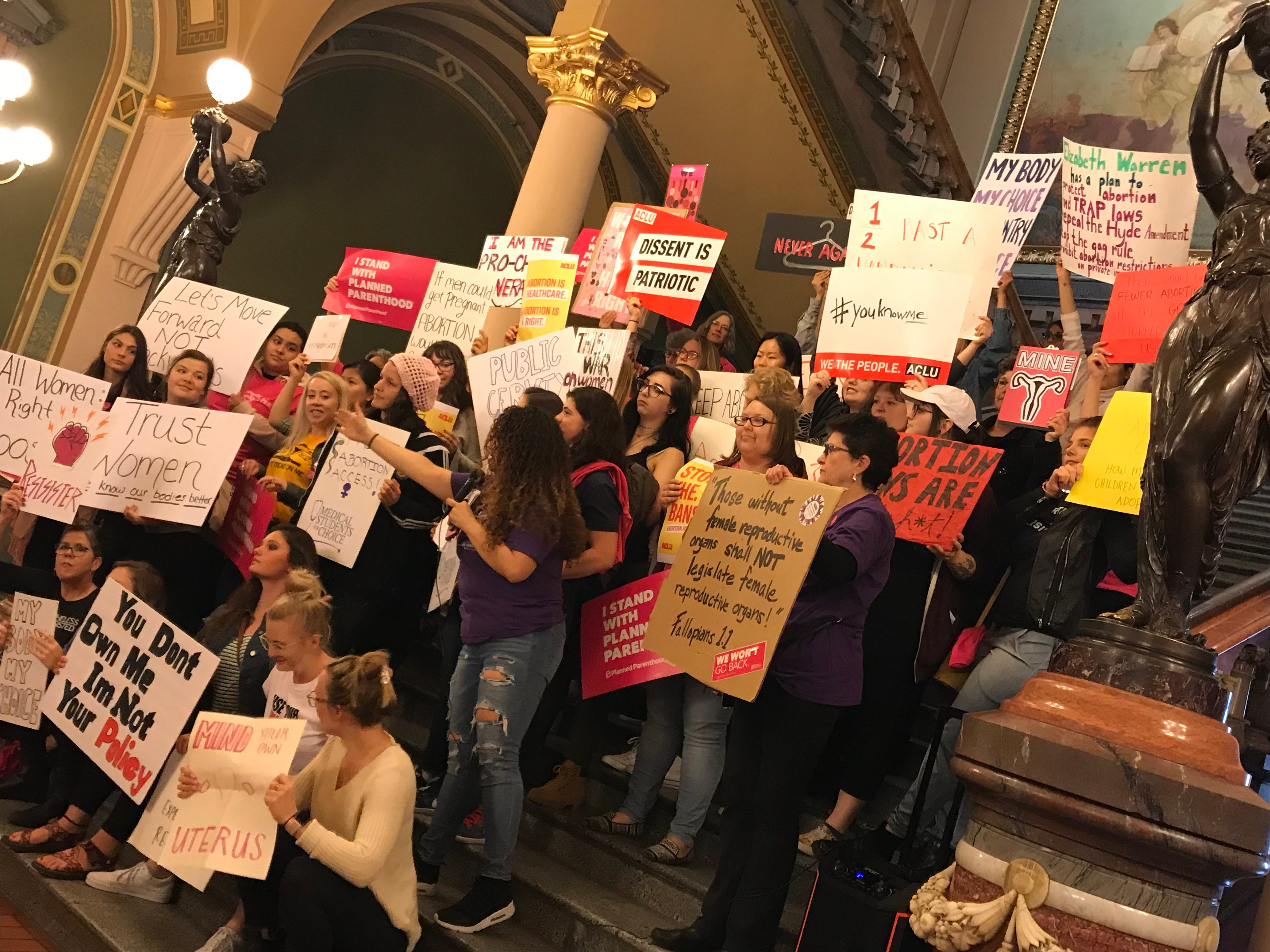 As abortion bans multiply, increasingly diverse voices are calling to protect women's rights