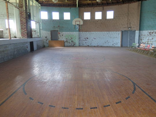 The Yale High School Gymnasium, with its distinctive round architectural design, is now listed on the the National Register of Historic Places.