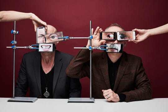 Phil Hartnoll (left) and Paul Hartnoll of Orbital