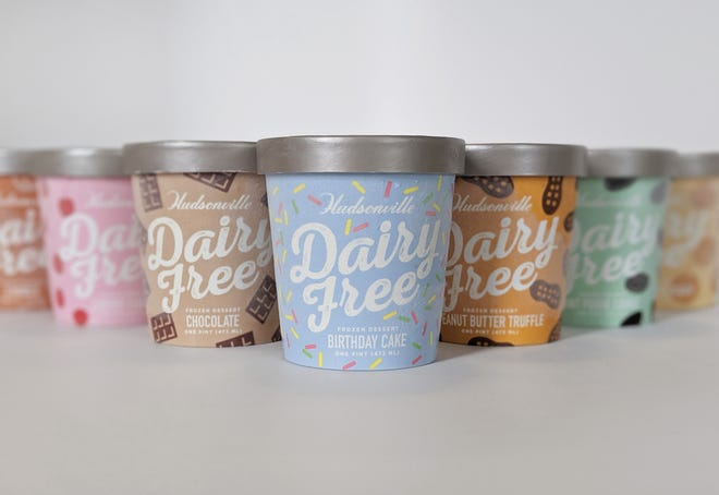 A new dairy-free and vegan-friendly ice cream from Hudsonville.