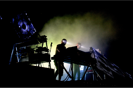 Electronic dance music duo Orbital