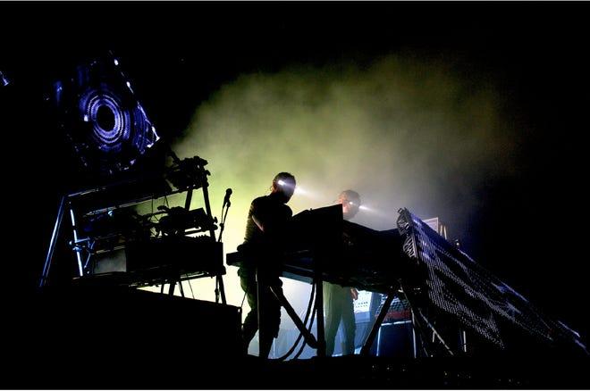 Electronic dance music duo Orbital