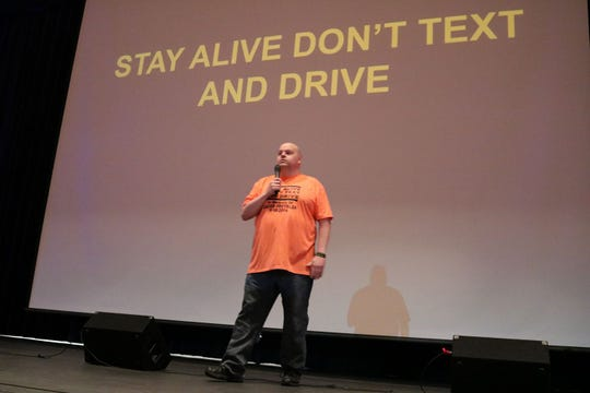 Jim Freybler of Grand Rapids has campaigned for tougher laws against texting and driving since his son, Jacob, was killed in 2014 in a crash as he texted a friend.