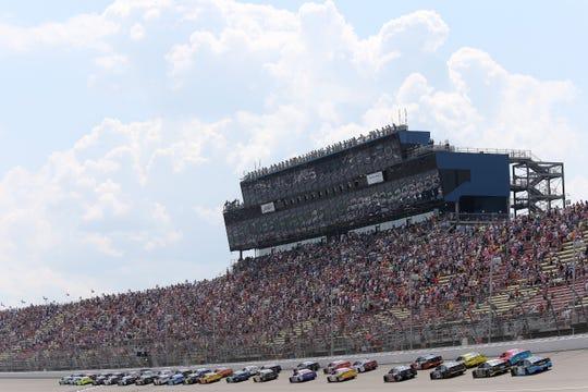 NASCAR is buying International Speedway in a deal worth about $2 billion. International Speedway owns Michigan International Speedway (pictured).