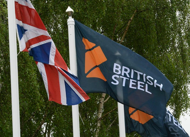 Britain's government pledged Tuesday May 21, 2019 to do its utmost to support British Steel amid reports the company is facing bankruptcy.