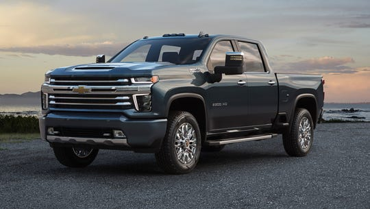 The High Country is one of five trim levels for the all-new 2020 Chevrolet Silverado HD.