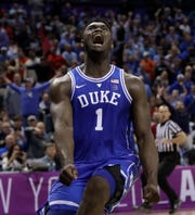 Duke's Zion Williamson is all but assured going to New Orleans with the No. 1 pick in NBA draft.