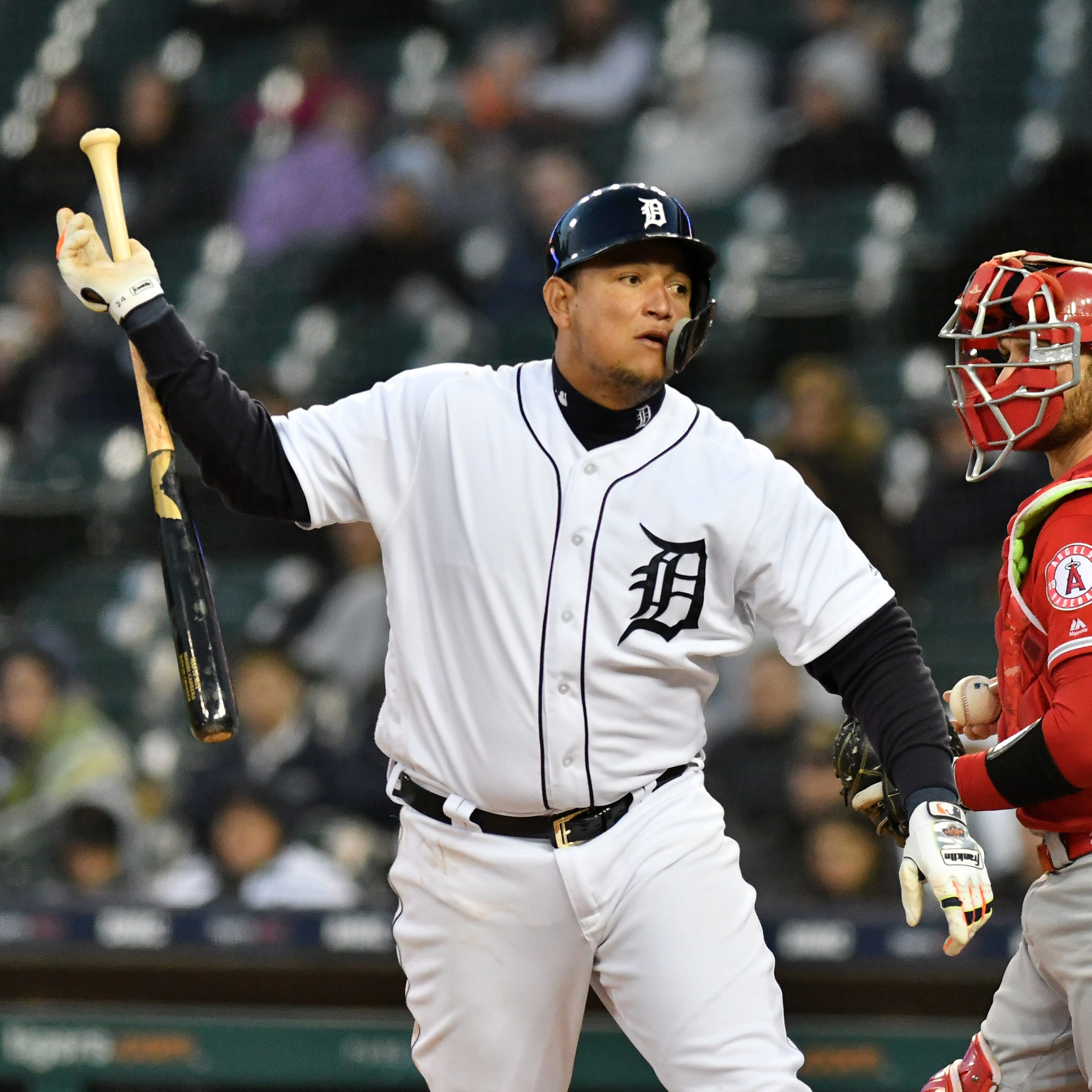 Candid Cabrera: Tigers star not content hitting singles; 'I want to find my power back'