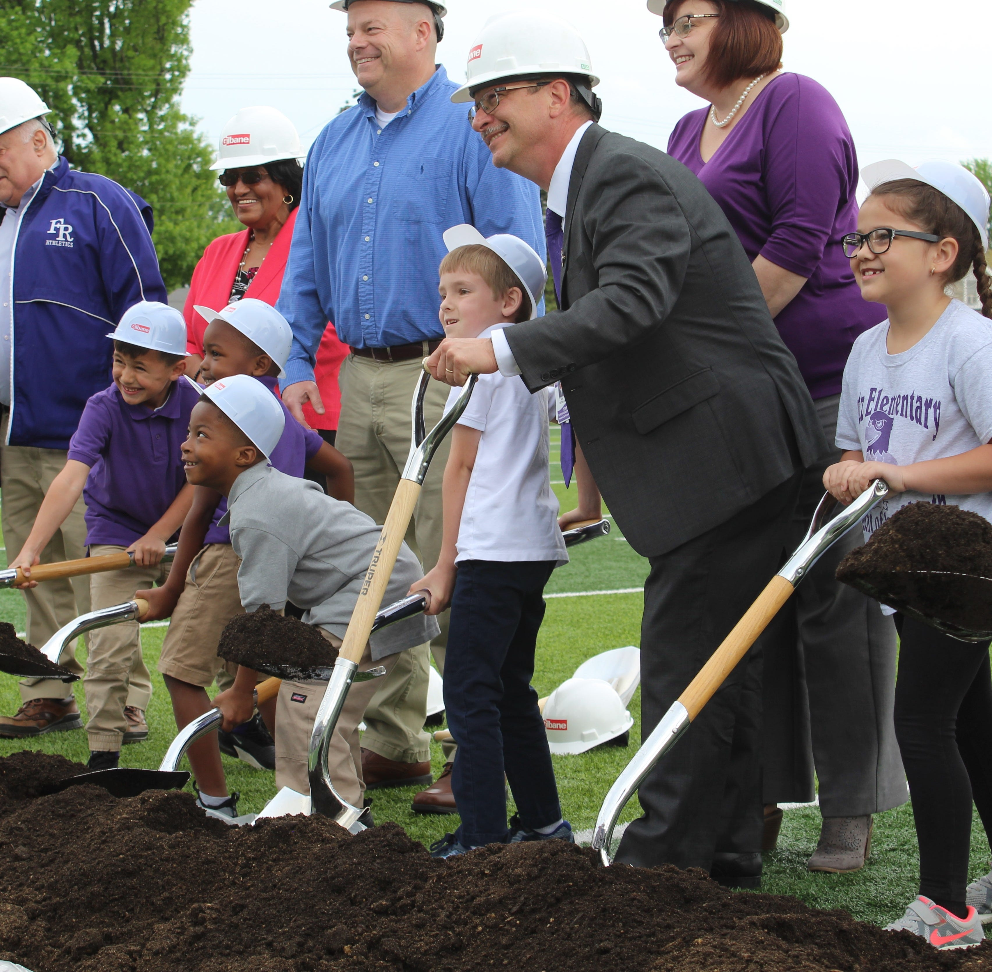 Groundbreaking held for 4 new Fremont elementary schools