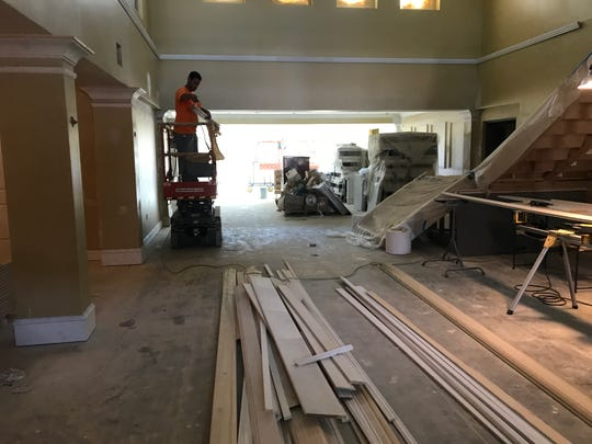 A number of  tradesmen  at a assisted living center project in  San Carlos Park came to work May 14 to find most of the tools of their trade-— table saws, paint, plumbing fixtures and even a trash can — stolen.