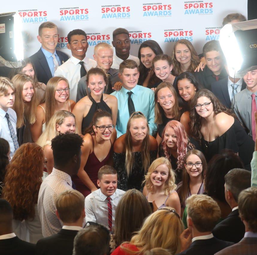 SFCA's Rebekah Bergquist, Estero's Hugh Brittenham among athletes honored at Southwest Florida Sports Awards