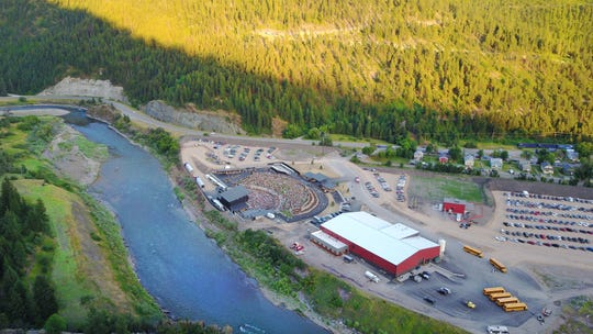 Along the Blackfoot River in Bonner, just outside Missoula, the KettleHouse Amphitheater has a full summer of concerts.