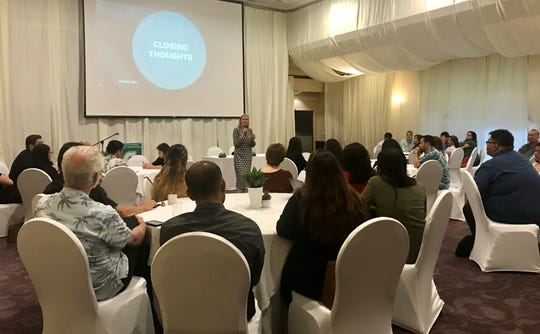 The University of Guam's Regional Center for Public Policy hosted a research seminar on the topic of minimum wage impacts on May 22 at the Hyatt Regency Guam.