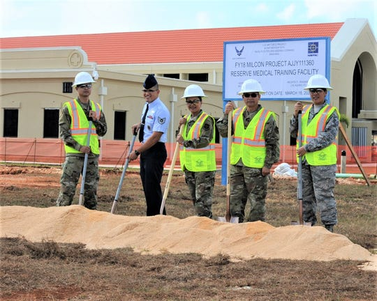 The 36th Civil Engineering Squadron broke ground on a $4.14 million medical training facility at Andersen Air Force Base in Guam on May 17, according to a military announcement.