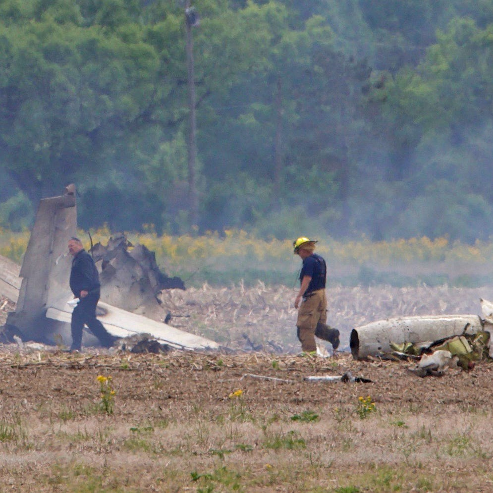 Small plane that crashed outside Indianapolis Wednesday was headed to Minden-Tahoe Airport
