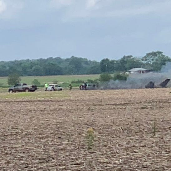 2 killed in plane crash near Indianapolis Regional Airport in Hancock County