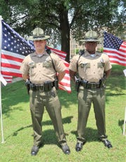 Tennessee Highway Patrol was among the first responder agencies honored at Tuesday's Flags of Freedom Ceremony.