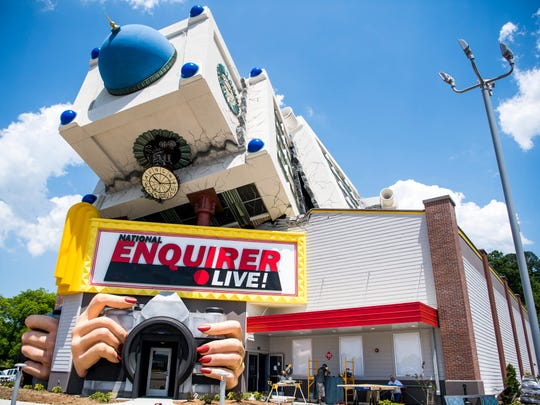 The National Enquirer Live attraction in Pigeon Forge on Wednesday, May 22, 2019.