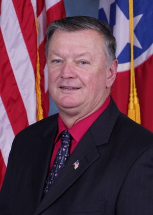 Tim Goins, Hamblen County commissioner.