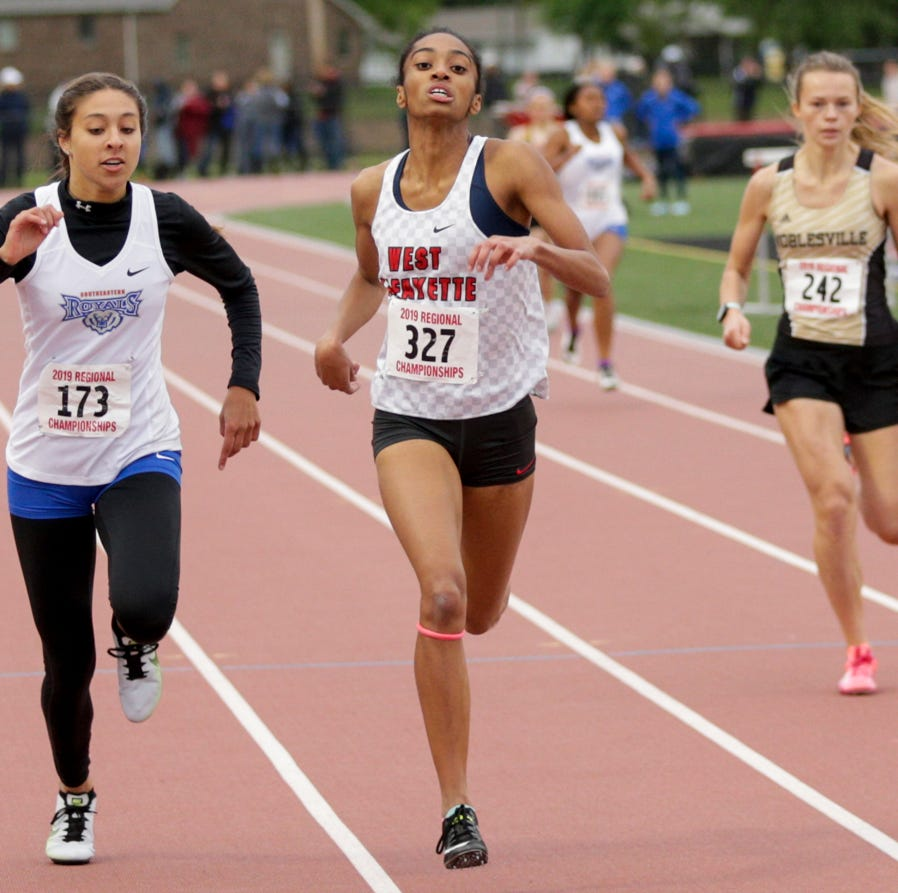 WL's Lauren Thomas overcomes adversity in winning 400; Red Devils place second at regional