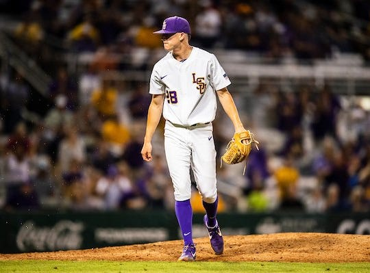 LSU trips early, but flies by South Carolina in SEC Tourney opener; to play Miss. St. tonight