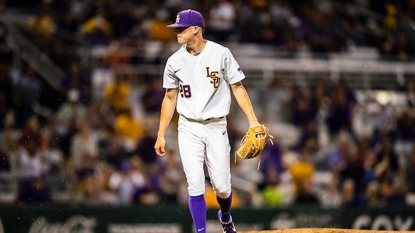 LSU trips early, but flies by S. Carolina in SEC Tourney opener; to play Miss. St. tonight