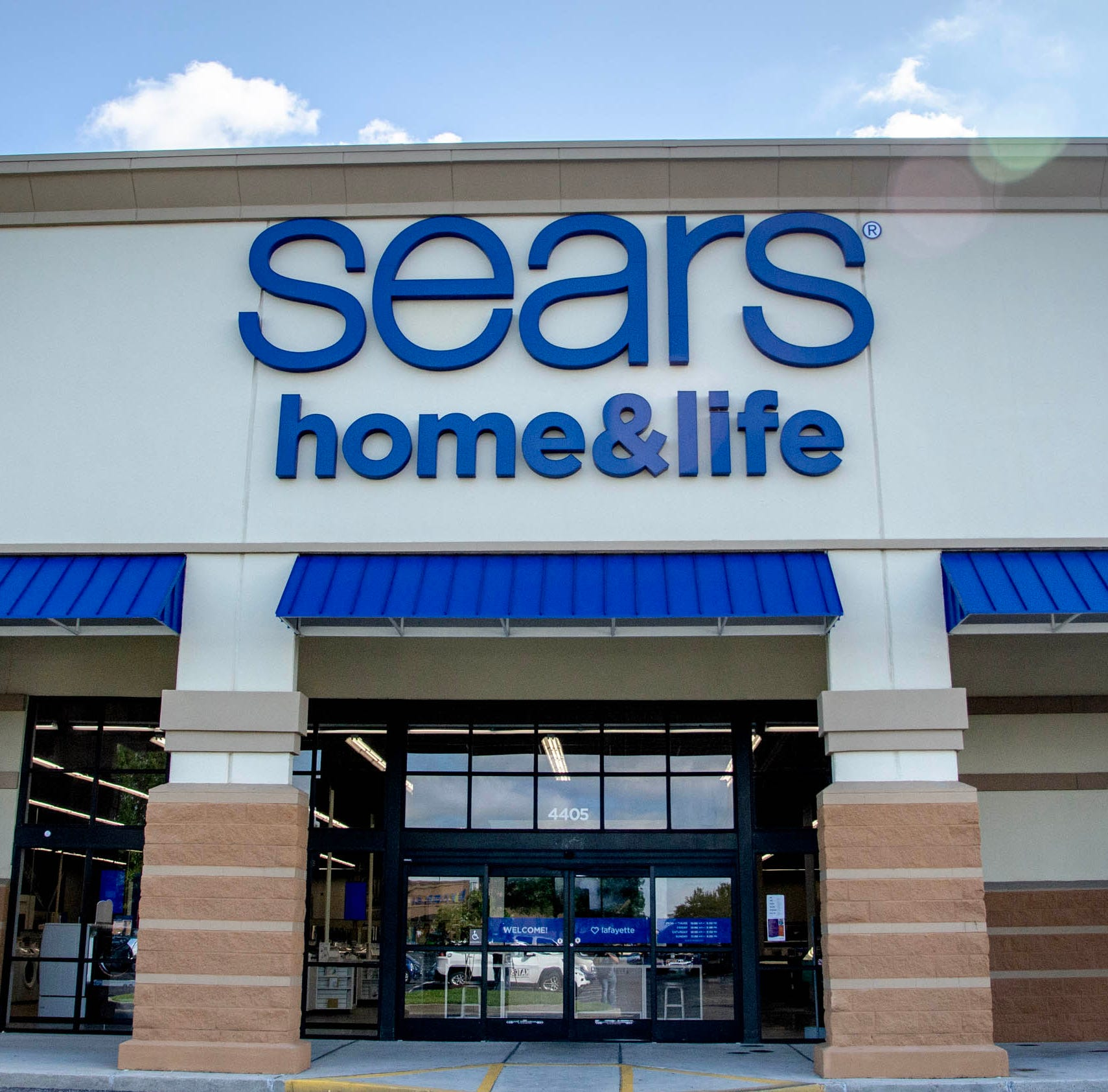 Lafayette is one of three cities in the country to get new Sears Home & Life stores