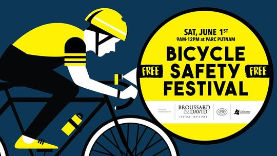 Bicycle Safety Festival poster