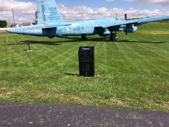 VFW Post 3761 will dedicate the P-2 aircraft (Bureau Number 131522) to the memory of Patrol Squadron Seven Crew One with a monument located adjacent to the aircraft.