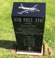 A monument dedicated to the memory of Patrol Squadron Seven Crew One.