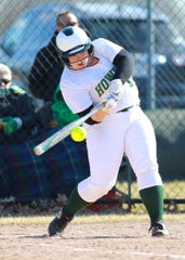Howell's Avrey Wolverton hit two home runs in a 15-2 victory over Canton.