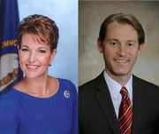 Democrat Heather French Henry will face Republican Micahsel Adams in Kentucky's secretary of state race.