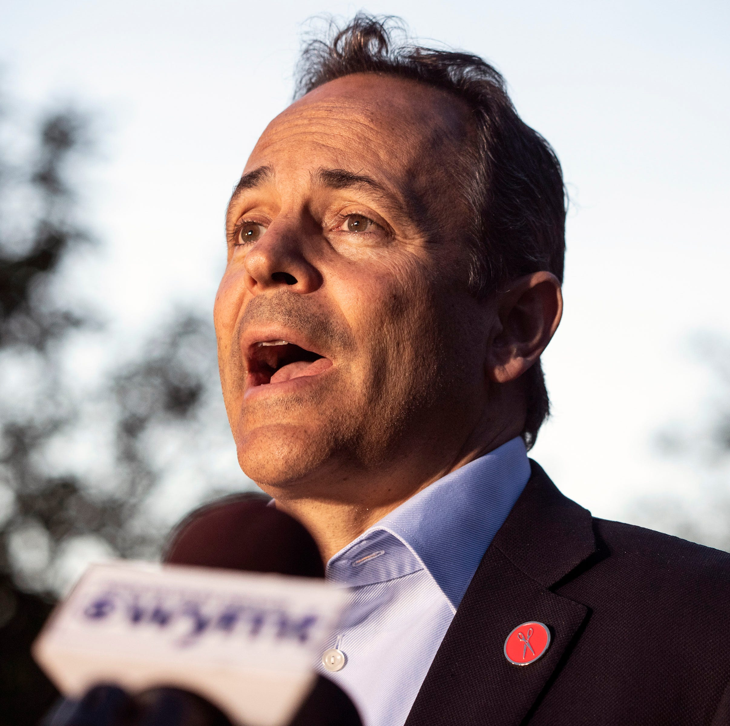 Gov. Matt Bevin ekes out a hard-fought win in the Kentucky Republican primary