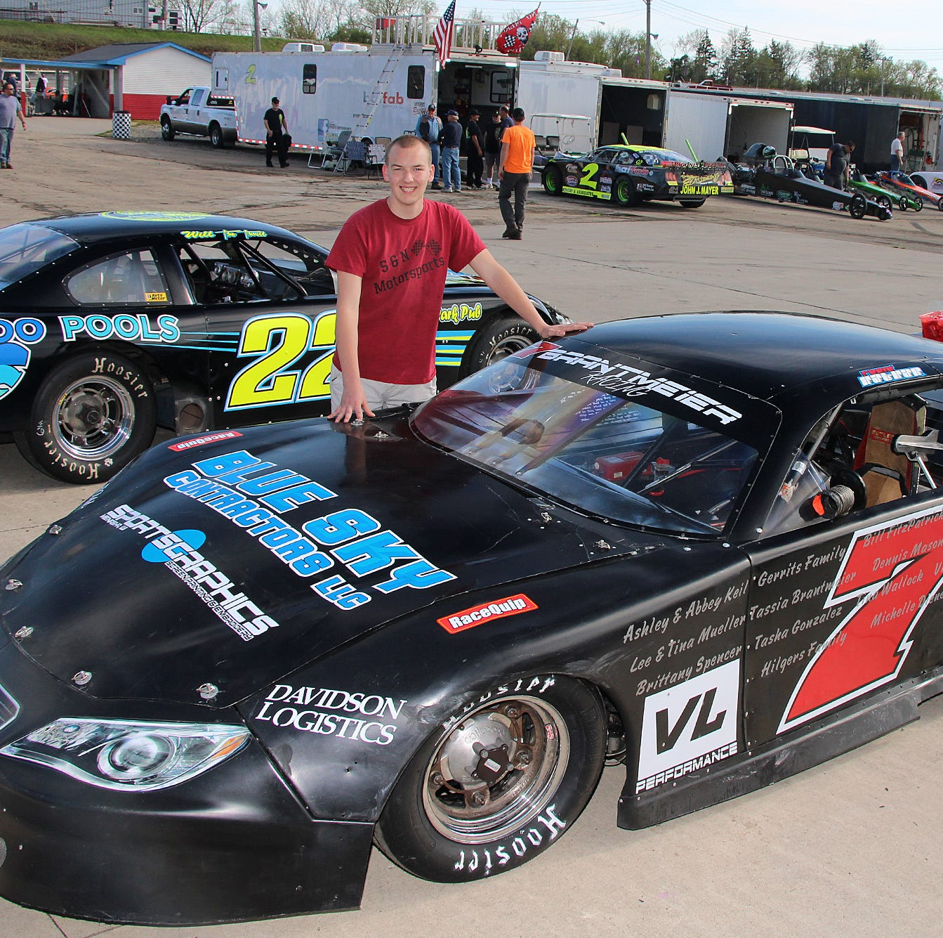 Brantmeier, 15, hoping to get up to speed in first season as late model racer at WIR