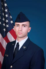 U.S. Air Force National Guard Airman 1st Class Logan D. McLaughlin