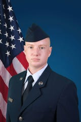 U.S. Air Force National Guard Airman 1st Class Joshua Johnson