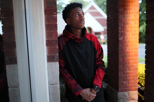 Tupac Mosley, 17, graduated from Raleigh Egypt High School this spring as the school's valedictorian- despite becoming homeless- finding ways to maintain high achievement marks in school all while wondering where he would sleep at night.