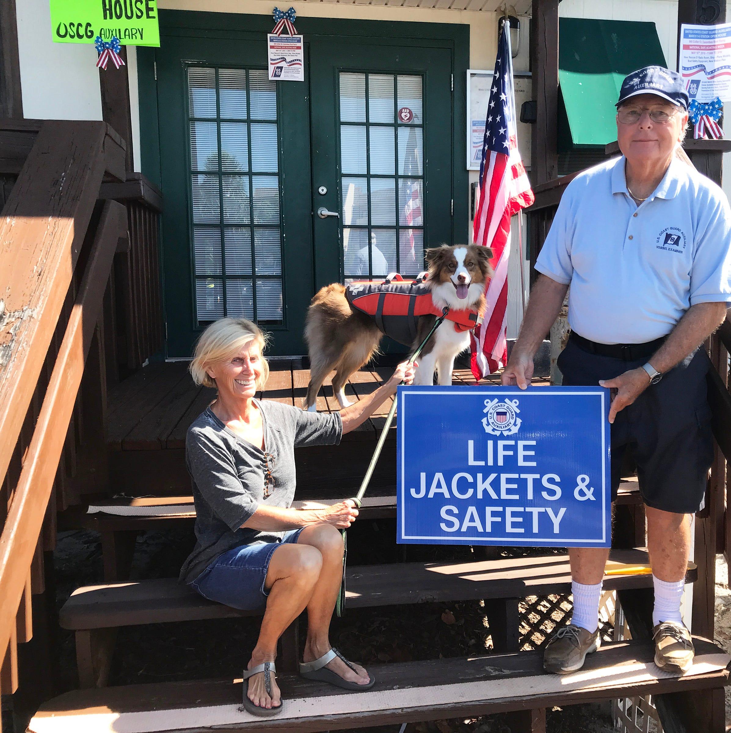 Club Briefs: Coast Guard Auxiliary on display