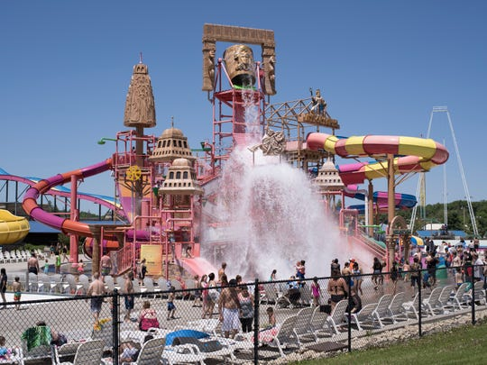 """Water Park"" (2018), a photograph by Mark Brautigam, is one of many images found in the book ""Among the Wonders of the Dells."""