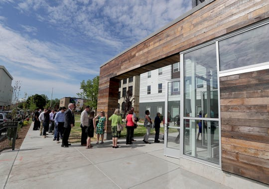 A celebration was held in June to mark the re-emergence of America's Black Holocaust Museum and the grand opening of The Griot development, one of the 23 winners in this year's Mayor Design Awards.