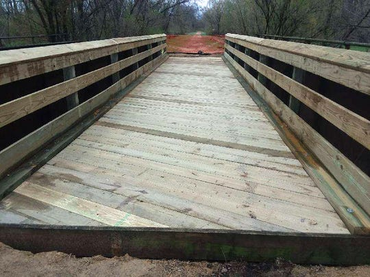Bridges on the 400 State Trail were damaged following storms in 2018, but some have been repaired and reopened.