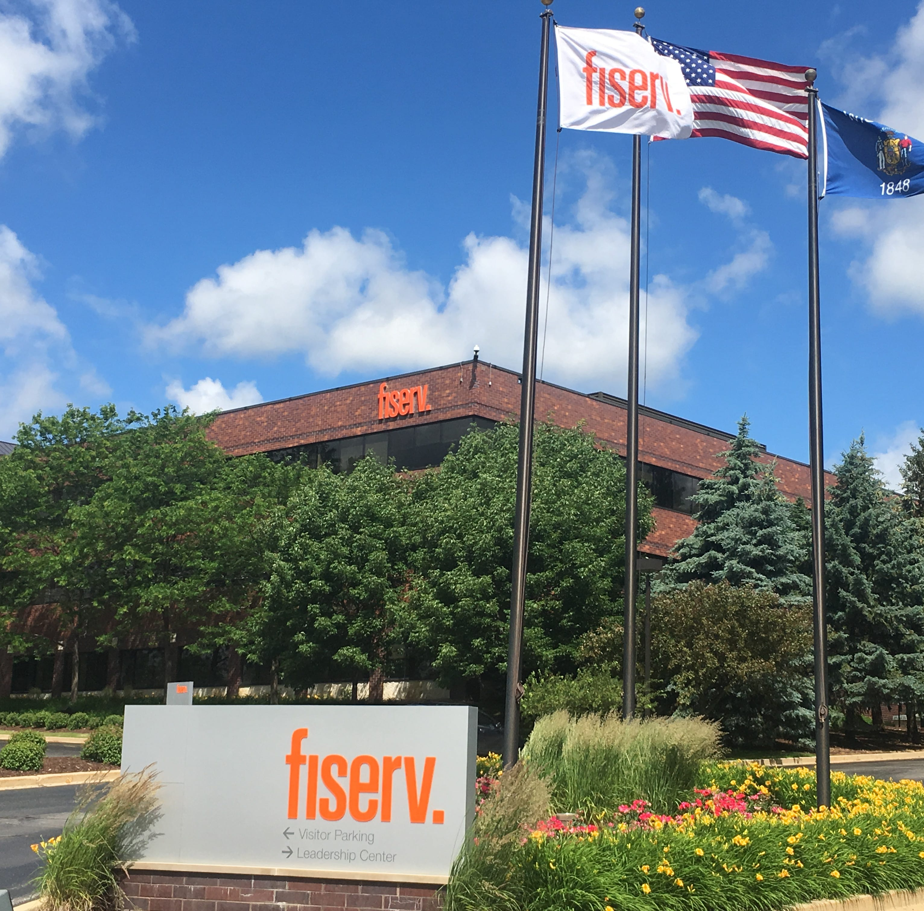 Fiserv suspends search for new headquarters site to focus on merger with First Data
