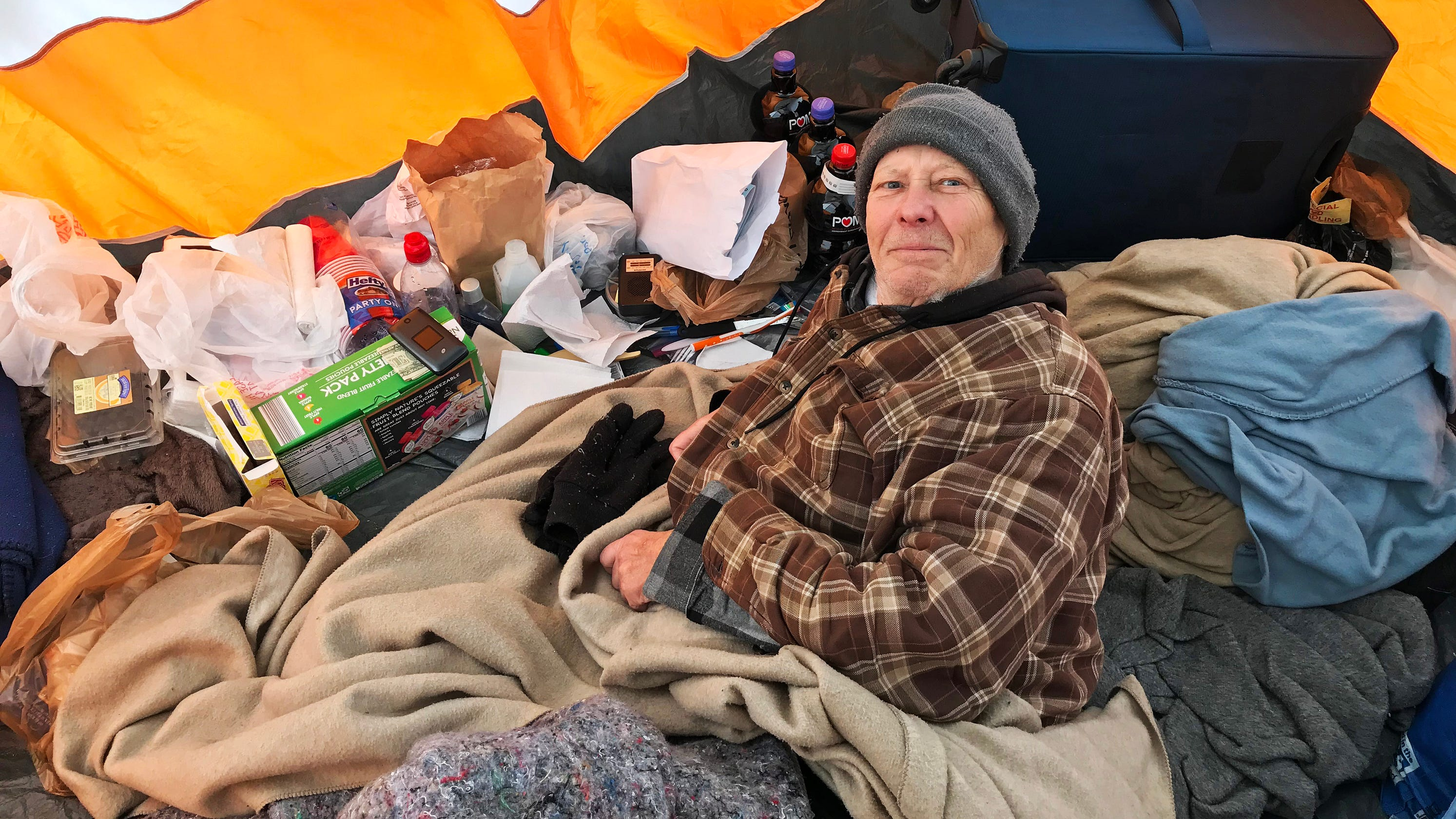 Homeless Cancer Patient In Tent City Moves To Milwaukee