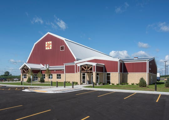 The Farm Wisconsin Discovery Center opened in Manitowoc County in July 2018.