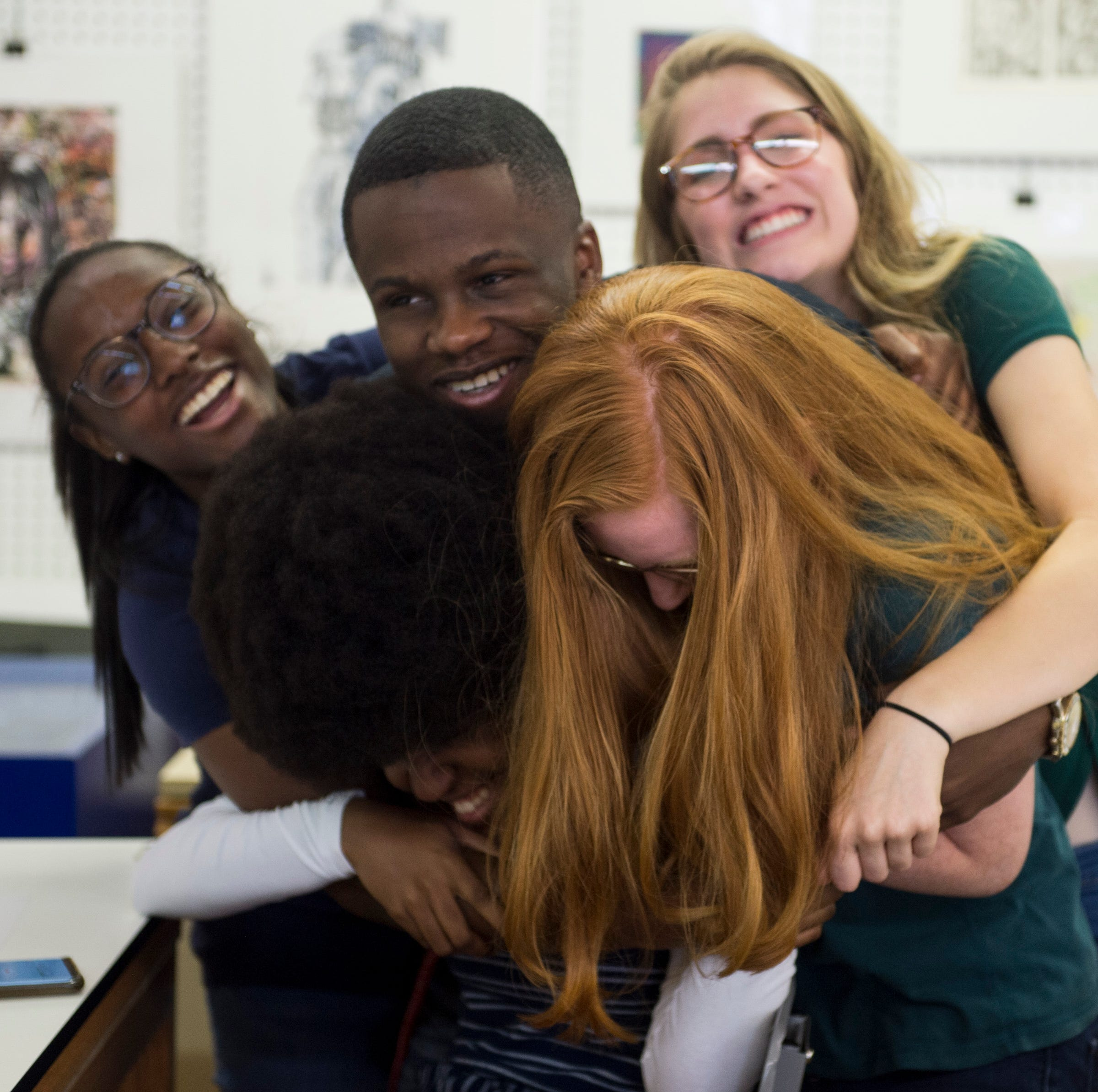 The fire that lit theirs: BTW art seniors reflect on their year at Hayneville Road