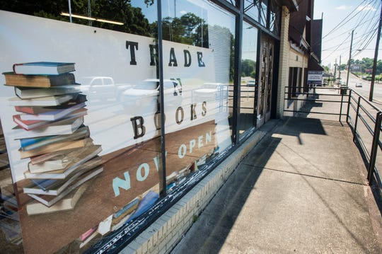 Trade 'n Books on Madison Ave. in Montgomery, Ala., on Wednesday, May 22, 2019.