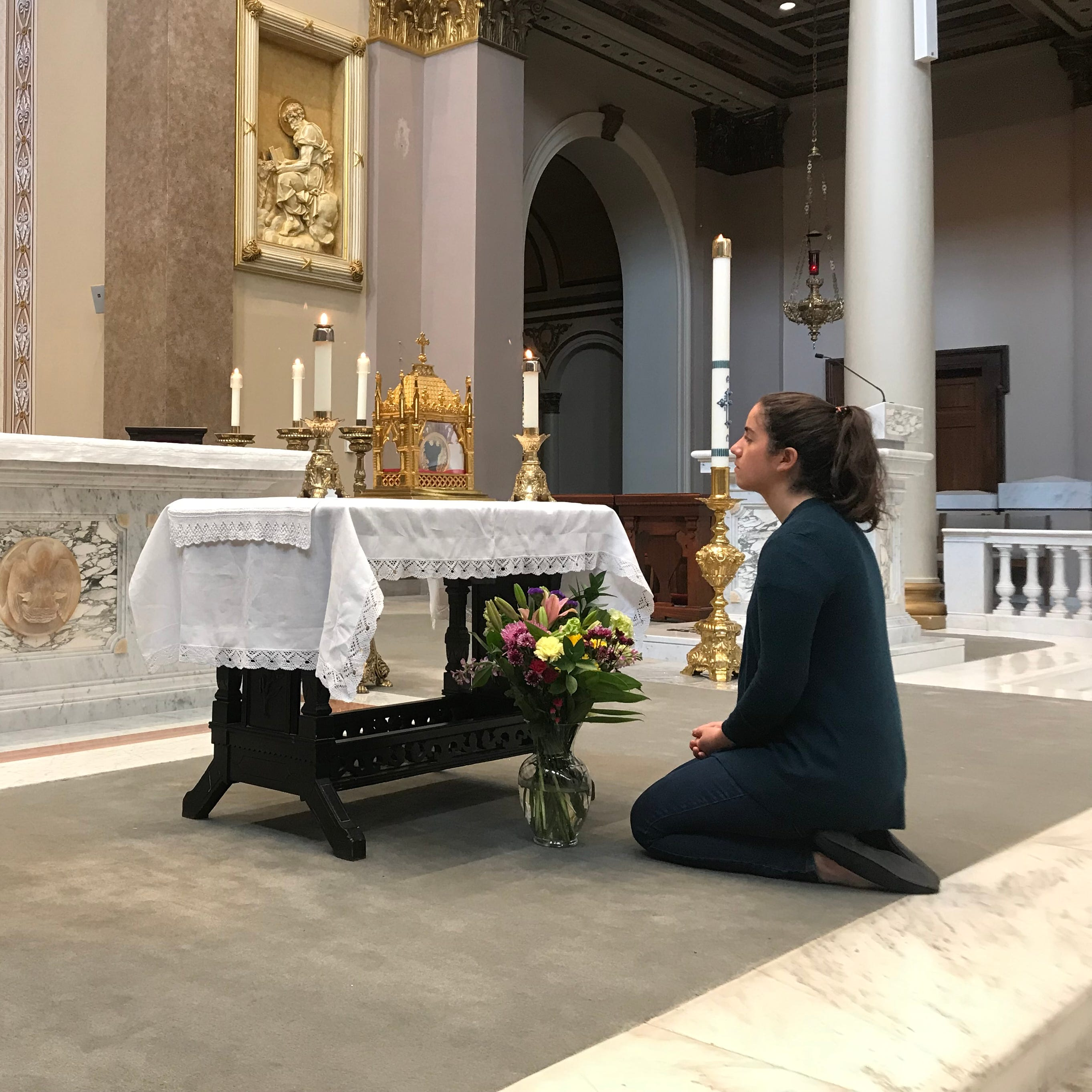 Why Catholics in Tennessee are lining up to see Saint Jean Vianney's heart
