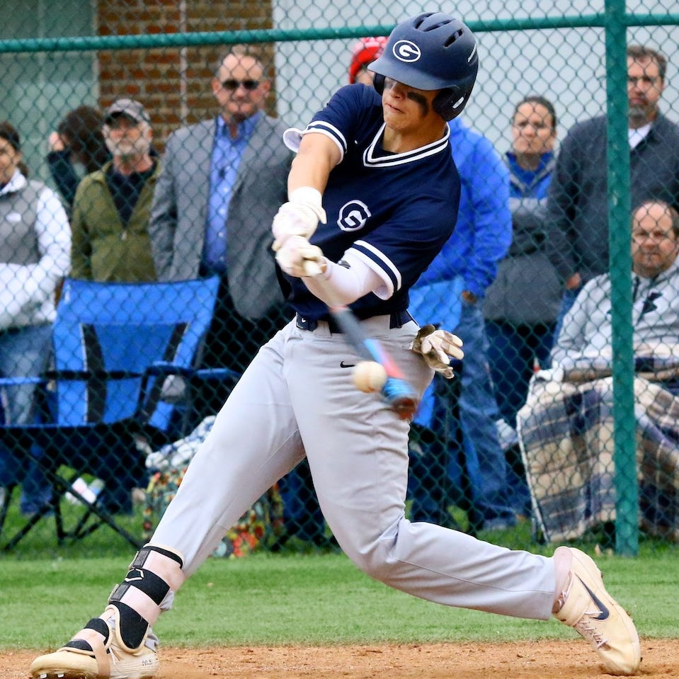 Big early inning leads Granville past Highland in district baseball