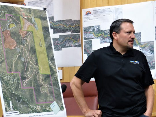 Parks and Recreation Director Rodney Griego went over some of the proposals during an earlier meeting with Groundwork Studio consultants and the public.