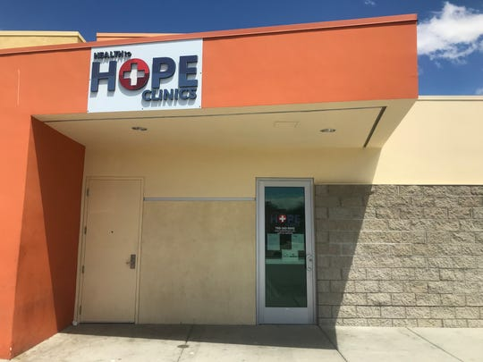 Health to Hope Clinics' location at the Coachella Valley Rescue Mission